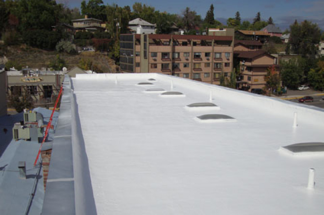 Commercial Single Ply Roof Membrane System